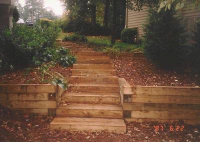 Timber Walls & Steps